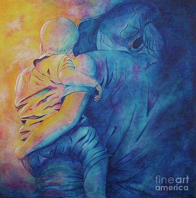 Painting - Mother And Child by Jaswant Khalsa
