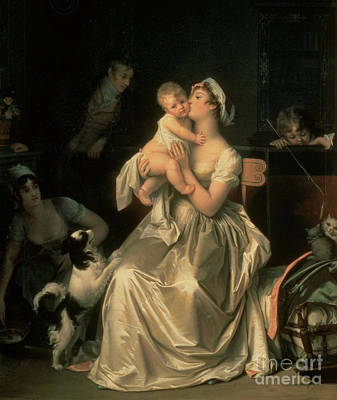 Painting - Motherhood by Marguerite Gerard