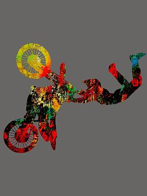Mixed Media - Motocross Collection by Marvin Blaine