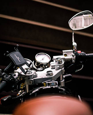Photograph - Motor Cycle by Hyuntae Kim