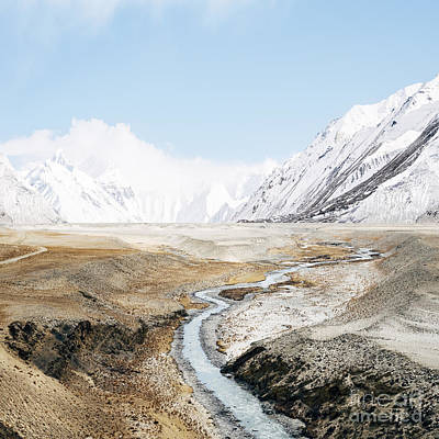 Art Print featuring the photograph Mount Everest by Setsiri Silapasuwanchai