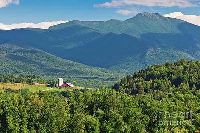 Photograph - Mount Mansfield Summer by Alan L Graham