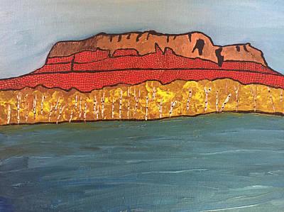 Painting - Mount Mckay by Paula Brown
