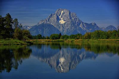 Photograph - Mount Moran by Raymond Salani III