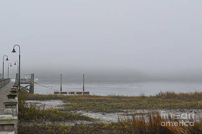 Photograph - Mount Pleasant Fog by Dale Powell