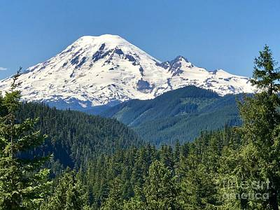 Photograph - Mount Rainier by Sean Griffin