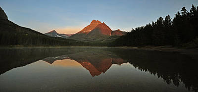 Mount Wilbur, Glacier National Park Art Print