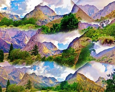 Photograph - Mountain Collage by Marilyn Diaz