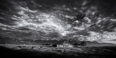 White Photograph - Mountain Drama by Andrew Soundarajan