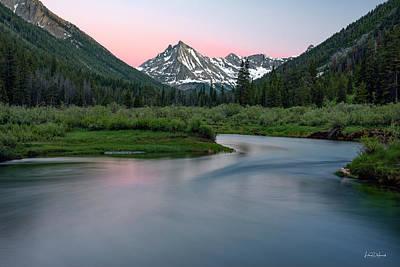 Photograph - Mountain Glow by Leland D Howard