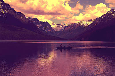 Travel Photograph - Mountain Lake by Artistic Panda