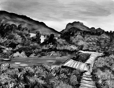 Painting - Mountain Lake by Corina Hogan