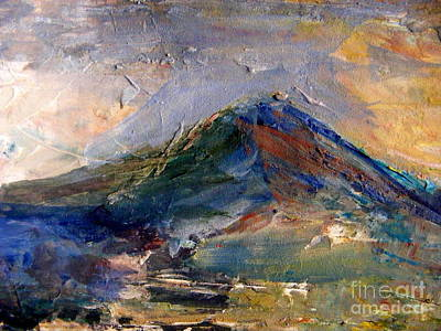 Painting - Mountain Majesty by Nancy Kane Chapman