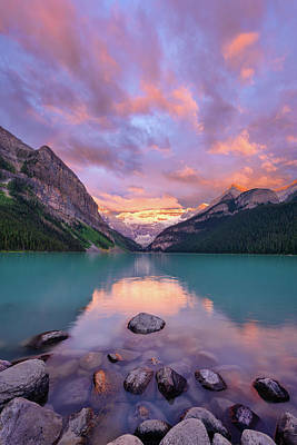 Banff Canada Photograph - Mountain Rise by Michael Blanchette