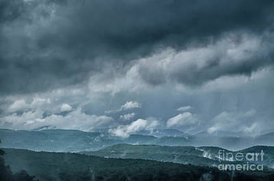Photograph - Mountain Storm by Thomas R Fletcher