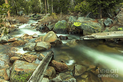 Photograph - Mountain Stream  by Ben Graham