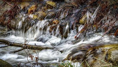 Photograph - Mountain Stream by Elaine Malott