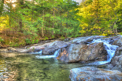 Photograph - Mountain Stream Waterfalls by Vance Bell