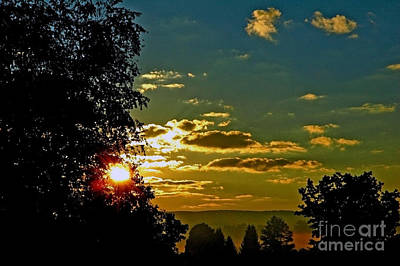 Webster County Photograph - Mountain Sunrise by Thomas R Fletcher