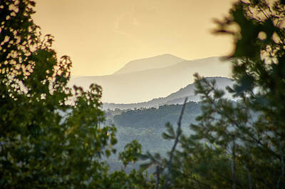 Photograph - Mountains In The Distance by Willard Killough III
