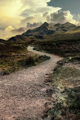 Photograph - Mountains Of Skye Island by Jaroslaw Blaminsky