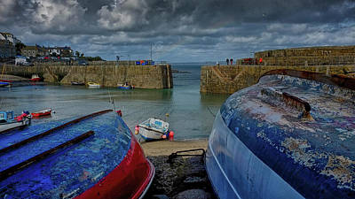 Photograph - Mousehole, Cornwall by Christopher Rees