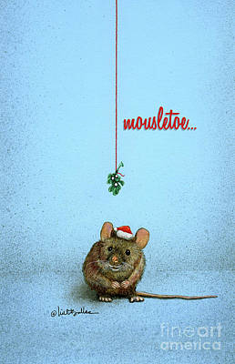 Painting - Mousletoe... by Will Bullas