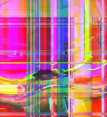 Image Transfer Mixed Media - Move The Dream Forward by Fania Simon
