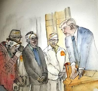 Painting - Mr. President Album by Debbi Saccomanno Chan