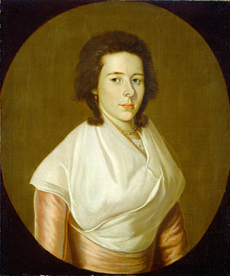 William Jennys Painting - Mrs Asa Benjamin by William Jennys