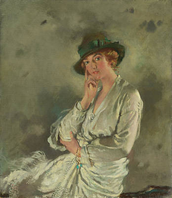 Sir William Orpen Painting - Mrs. Charles S. Carstairs by Sir William Orpen