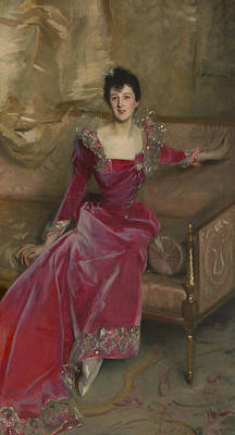 Painting - Mrs. Hugh Hammersley by John Singer Sargent