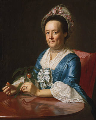 Painting - Mrs. John Winthrop by John Singleton Copley