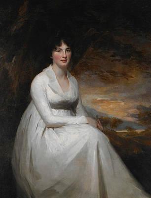 Raeburn Painting - Mrs. Macdowall by Henry Raeburn