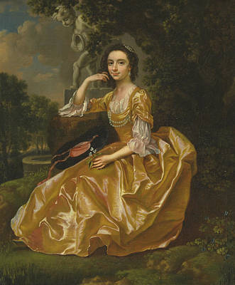 Painting - Mrs. Mary Chauncey by Francis Hayman