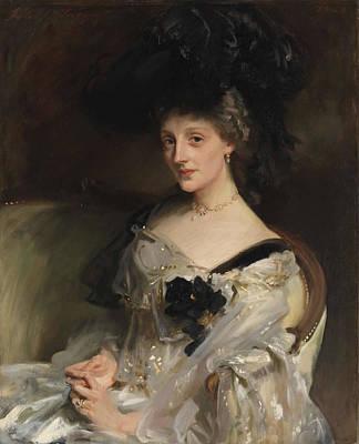 Mrs Philip Leslie Agnew Art Print by John Singer