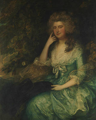 Painting - Mrs. William Tennant by Thomas Gainsborough
