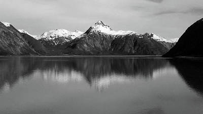 Photograph - Sentinel Peak In Glacier Bay by Judy Wanamaker