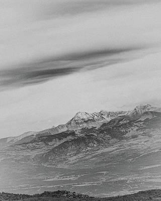 Mt Hesperus Art Print