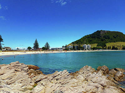 Photograph - Mt Maunganui Beach 9 - Tauranga New Zealand by Selena Boron