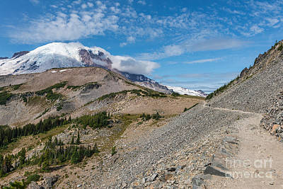Photograph - #mtrainier by Sharon Seaward