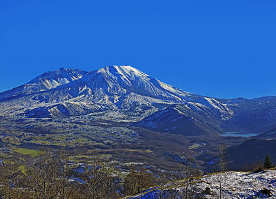 Photograph - Mt St Helens by Jack Moskovita