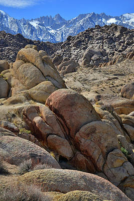 Photograph - Mt. Whitney And The Alabama Hills by Ray Mathis