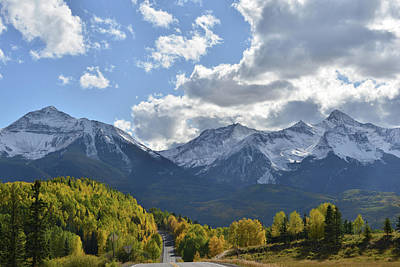 Photograph - Mt. Wilson And Sunshine Mountain by Ray Mathis