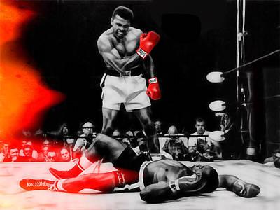 Boxing Mixed Media - Muhammad Ali Art by Marvin Blaine