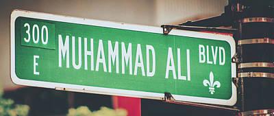 Photograph - Muhammad Ali Blvd by Pixabay