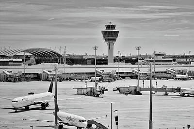 Photograph - Munich Airport by Mountain Dreams