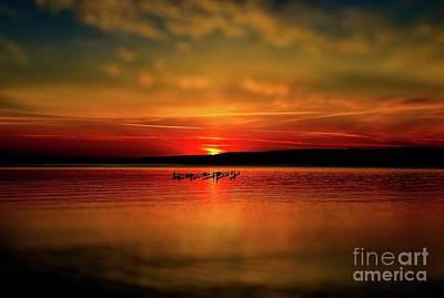 Photograph - Munising Sunrise  by Matthew Winn