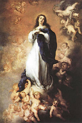 Murillo Immaculate Conception  Art Print