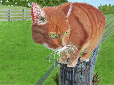 Painting - Murry by Barb Pennypacker